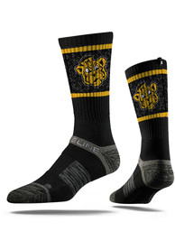 Missouri Tigers Strideline Vault Logo Crew Socks - Black