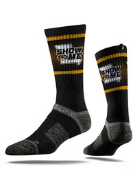 Strideline Missouri Tigers Mens Black Show Me Crew Socks