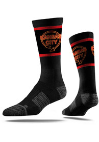 Kansas City Strideline Sign Crew Socks - Black
