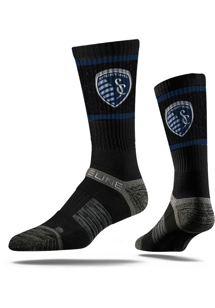 Sporting Kansas City Strideline Premium Crew Socks - Black