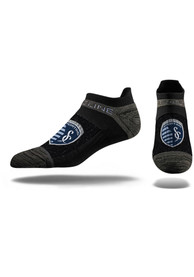 Sporting Kansas City Strideline Premium No Show Socks - Black