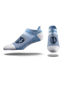 Sporting Kansas City Strideline Premium No Show Socks - Blue