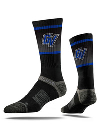 Grand Valley State Lakers Strideline Team Logo Crew Socks - Black