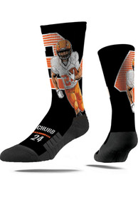 Nick Chubb Cleveland Browns Strideline Action Crew Socks - Navy Blue