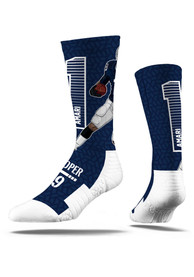 Amari Cooper Dallas Cowboys Mens Navy Blue Action Crew Socks