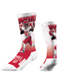 Tyreek Hill Kansas City Chiefs Strideline World Champ Crew Socks - Red