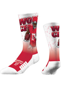 Mecole Hardman Kansas City Chiefs Strideline World Champ Crew Socks - Red