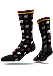 Central Michigan Chippewas Strideline Step and Repeat Dress Socks - Maroon