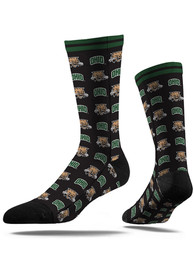 Ohio Bobcats Strideline Step and Repeat Dress Socks - Green