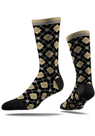 Purdue Boilermakers Strideline Repeat Argyle Socks - Navy Blue