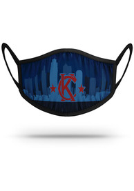 Kansas City Strideline Skyline Fan Mask - Blue