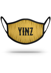Pittsburgh Strideline Yinz Fan Mask - Yellow