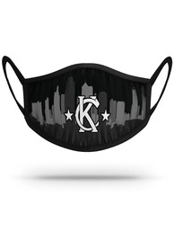 Kansas City Strideline Skyline Fan Mask - Black