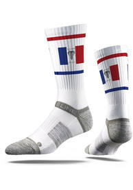 Kansas City Strideline Fountain Flag Crew Socks - Grey