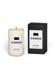 Kansas Homesick Candle Bathroom Decor