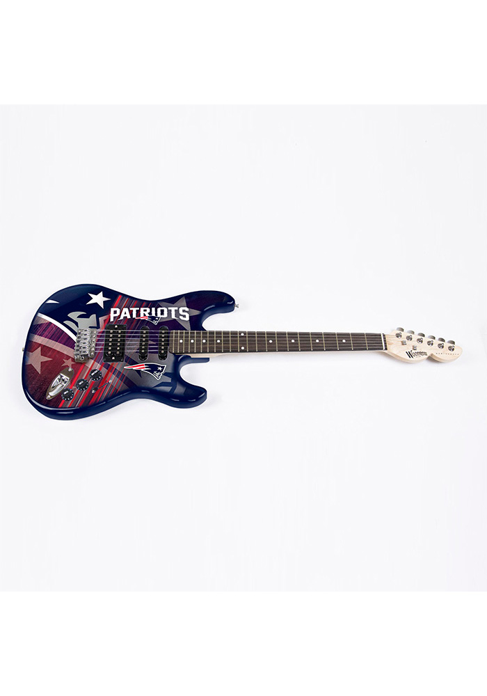 New England Patriots Northender Series II Collectible Guitar - Image 1