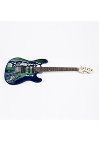 Seattle Seahawks Northender Series II Collectible Guitar