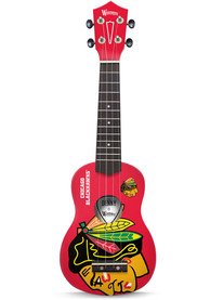 Chicago Blackhawks Ukulele Collectible Ukulele