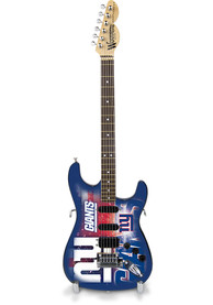 New York Giants Mini Collectible Guitar