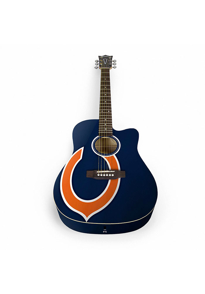 Chicago Bears Acoustic Collectible Guitar - Image 1