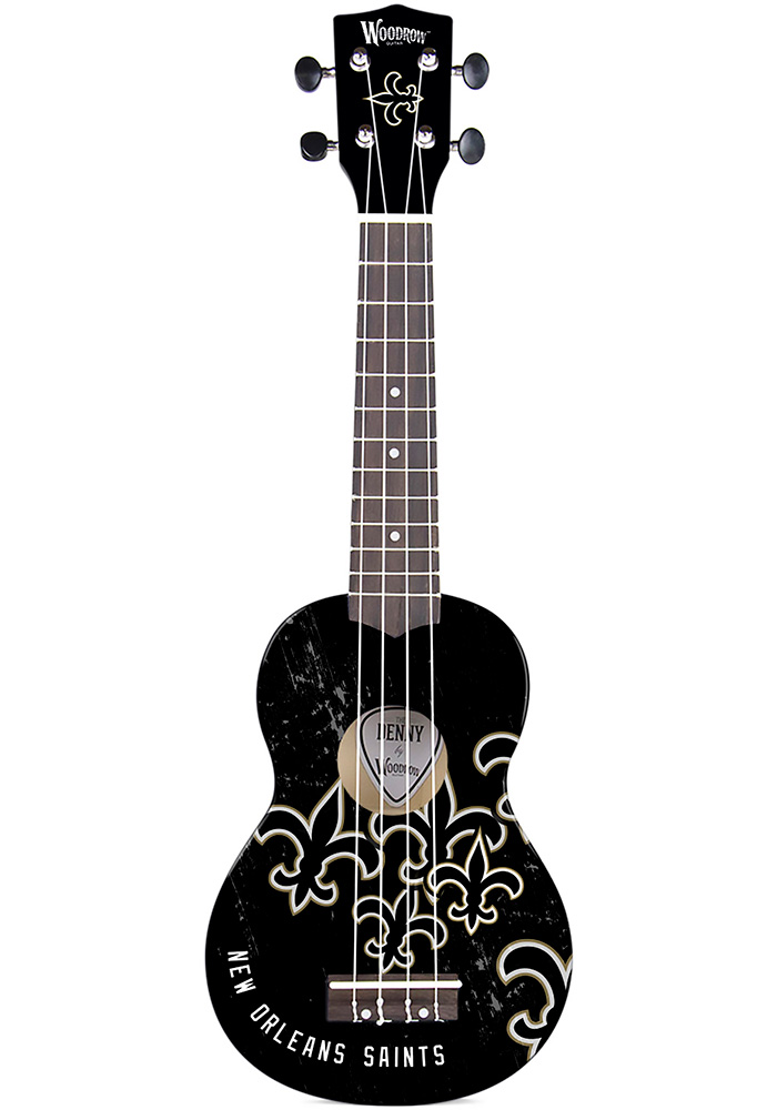 New Orleans Saints Ukulele Collectible Ukulele - Image 1