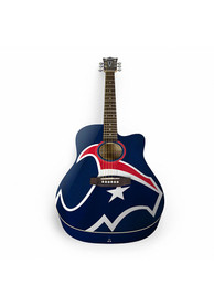 Houston Texans Acoustic Collectible Guitar