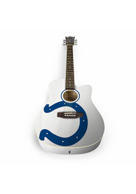 Indianapolis Colts Acoustic Collectible Guitar