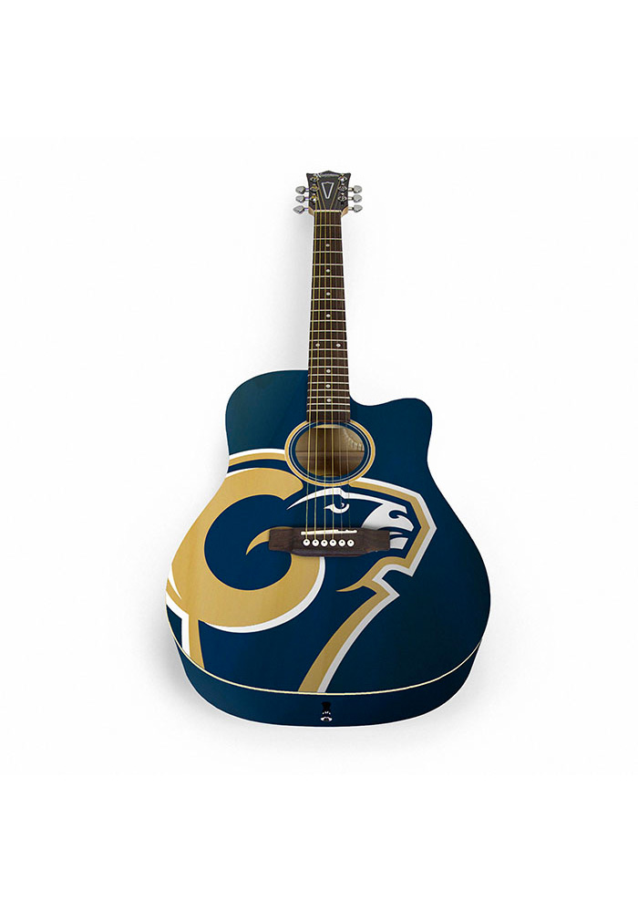 Los Angeles Rams Acoustic Collectible Guitar - Image 1