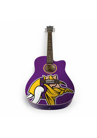 Minnesota Vikings Acoustic Collectible Guitar