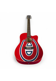 Montreal Canadiens Acoustic Collectible Guitar