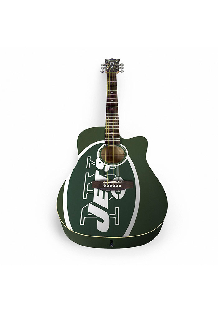New York Jets Acoustic Collectible Guitar - Image 1