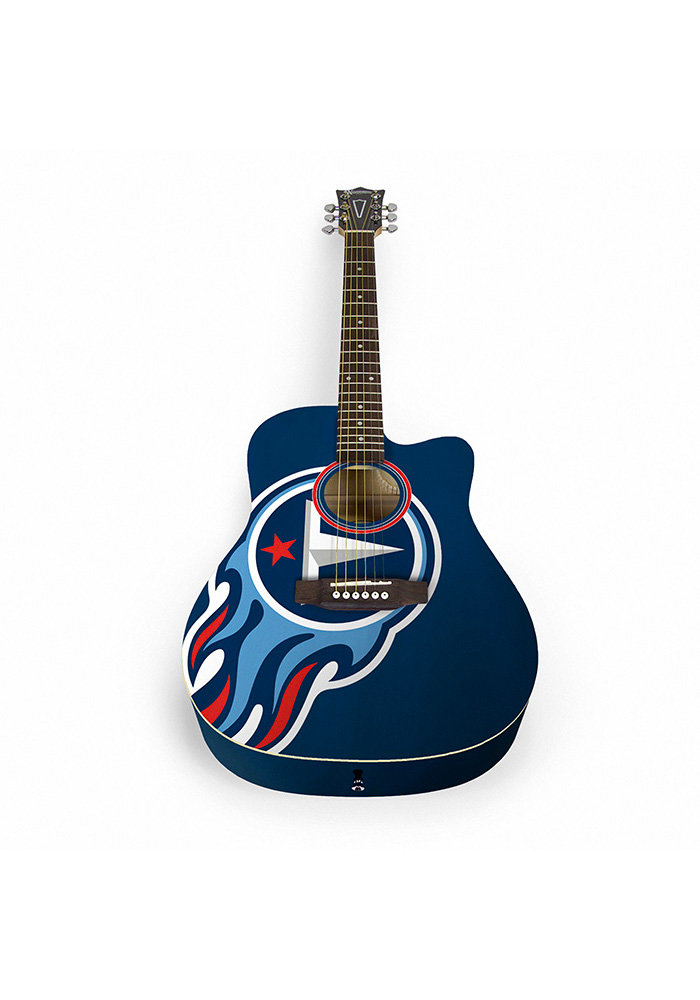 Tennessee Titans Acoustic Collectible Guitar - Image 1