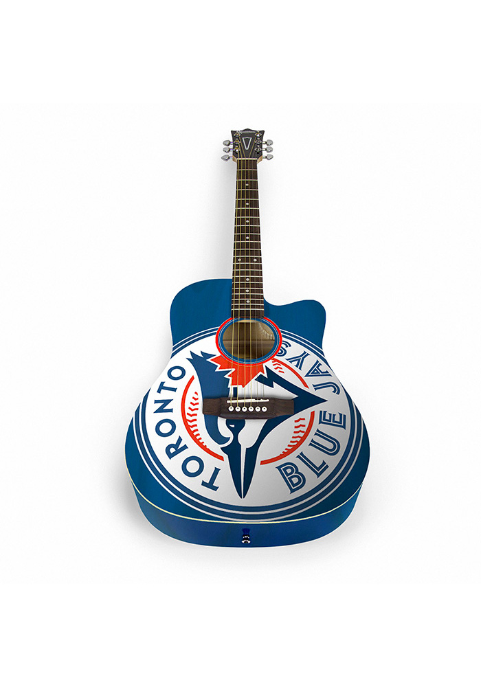Toronto Blue Jays Acoustic Collectible Guitar - Image 1