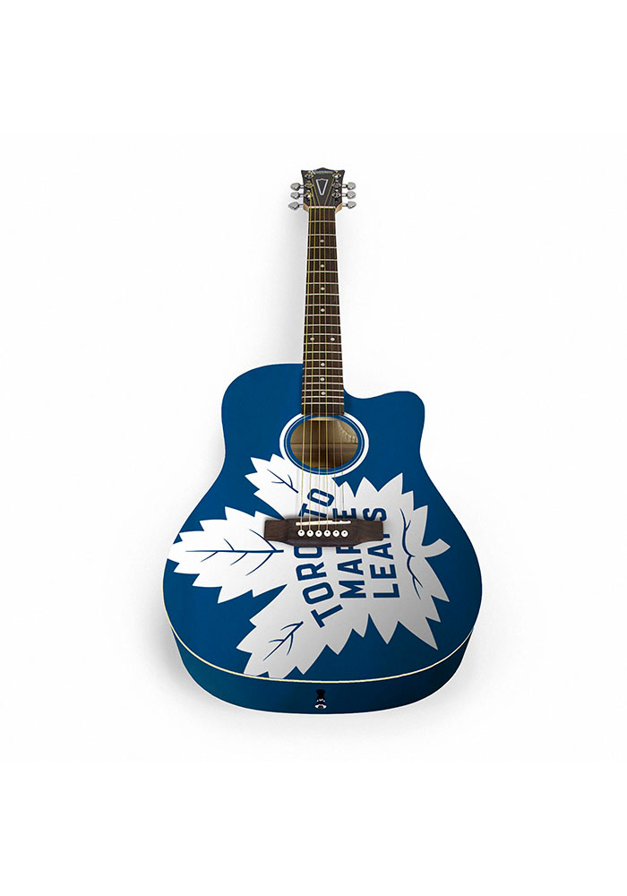 Toronto Maple Leafs Acoustic Collectible Guitar - Image 1