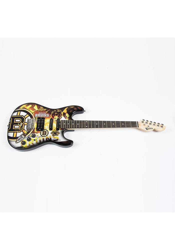 Boston Bruins Northender Collectible Guitar