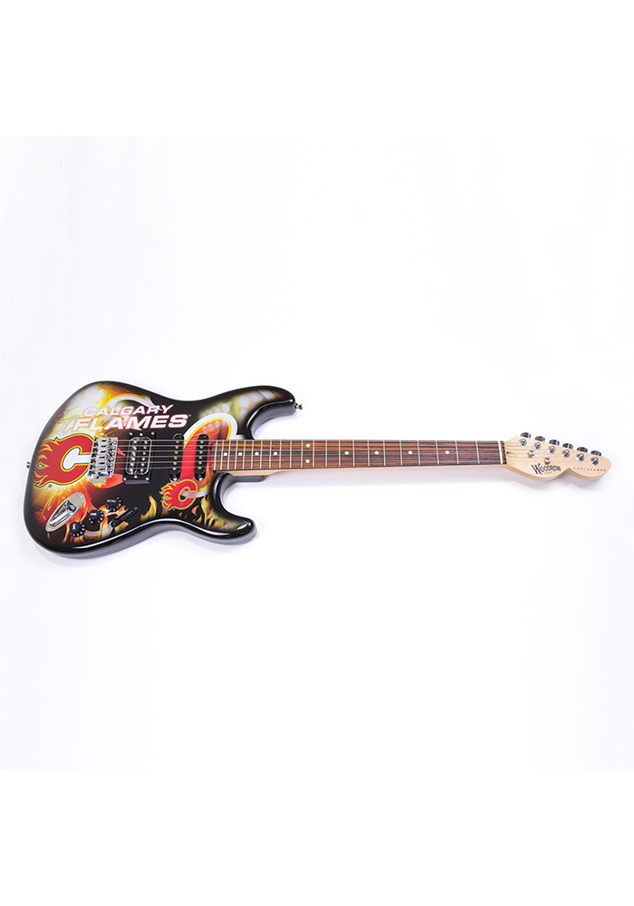 Calgary Flames Northender Collectible Guitar - Image 1
