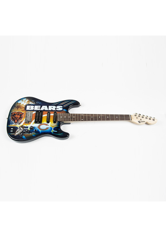 Chicago Bears Northender Collectible Guitar - Image 1