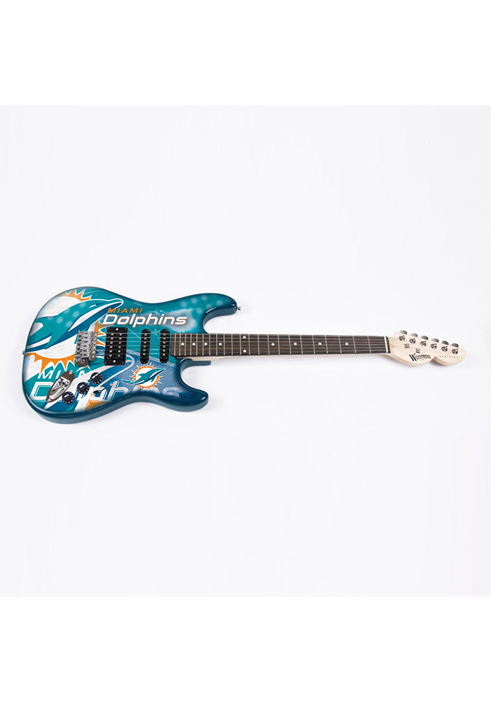 Miami Dolphins Northender Collectible Guitar - Image 1