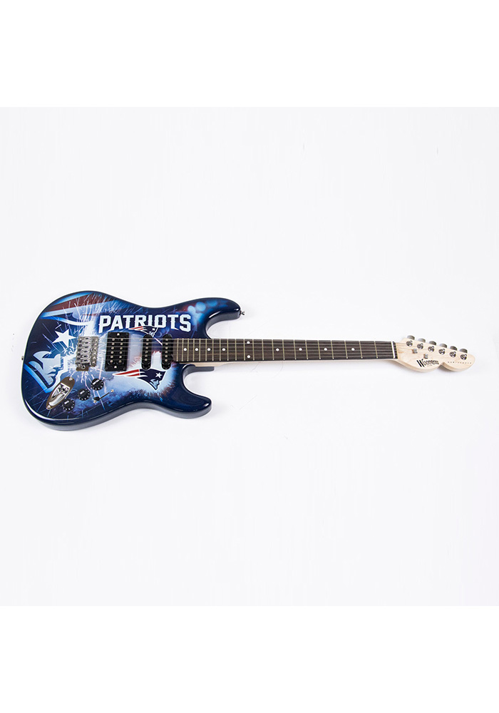 New England Patriots Northender Collectible Guitar - Image 1