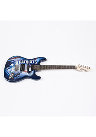 New England Patriots Northender Collectible Guitar
