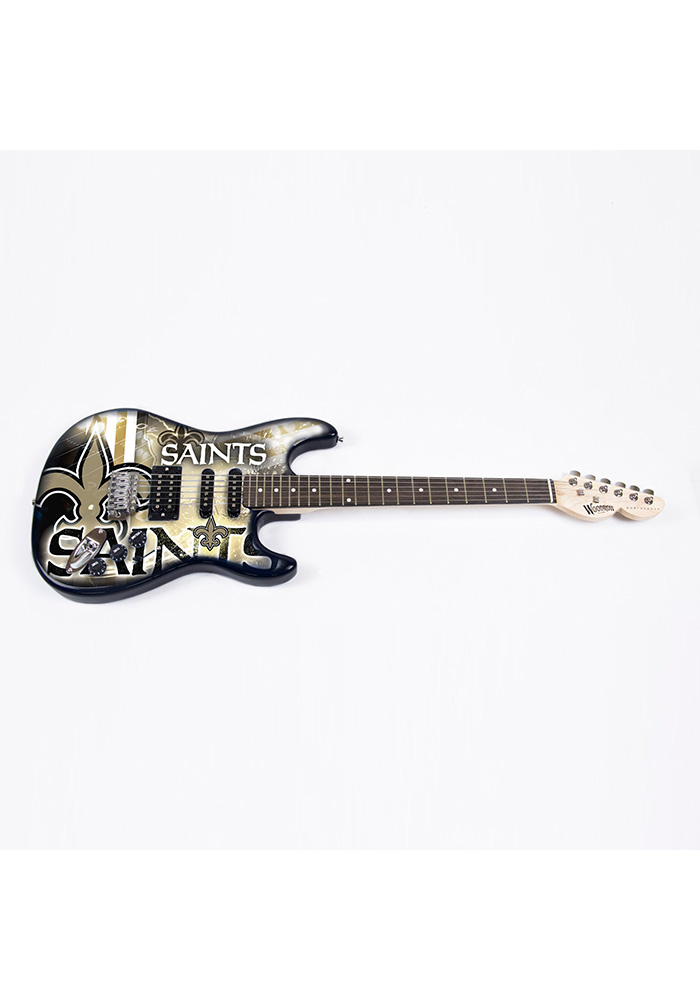 New Orleans Saints Northender Collectible Guitar - Image 1