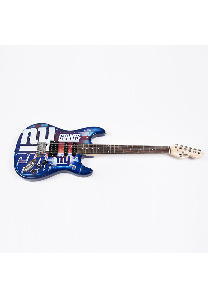 New York Giants Northender Collectible Guitar - Image 1