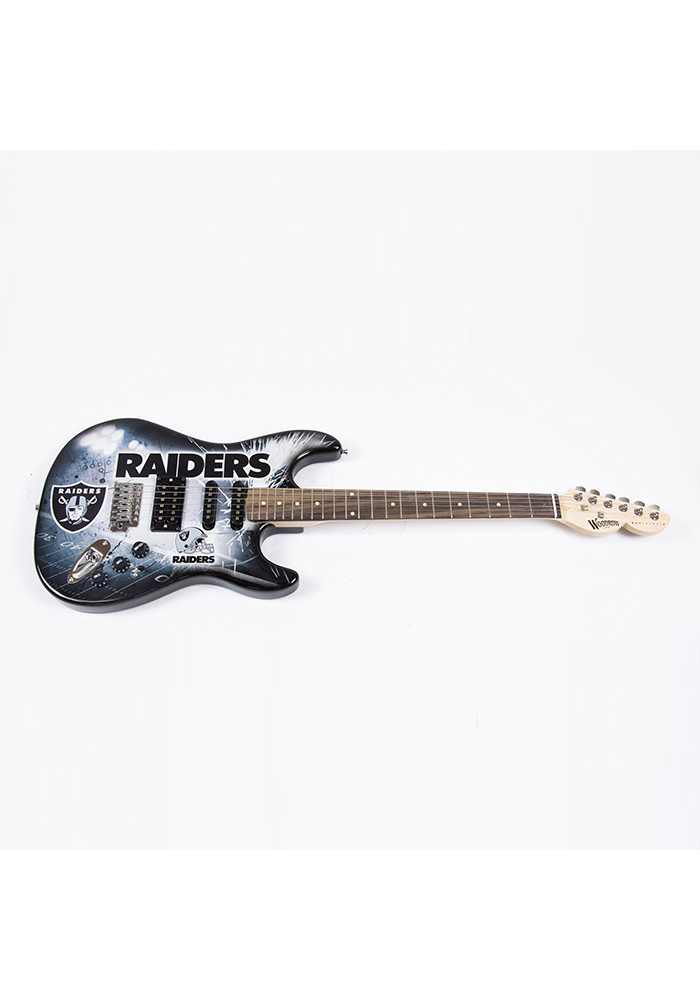 Oakland Raiders Northender Collectible Guitar - Image 1