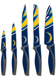 Los Angeles Chargers Blue 5-Piece Kitchen Knives Set