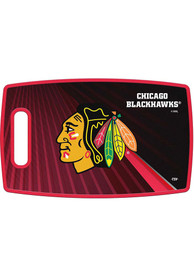 Chicago Blackhawks 14.5x9 Plastic Cutting Board