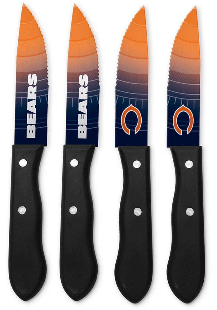 Chicago Bears Steak Knives Set - Image 1