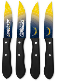 Los Angeles Chargers 4-Piece Steak Knives