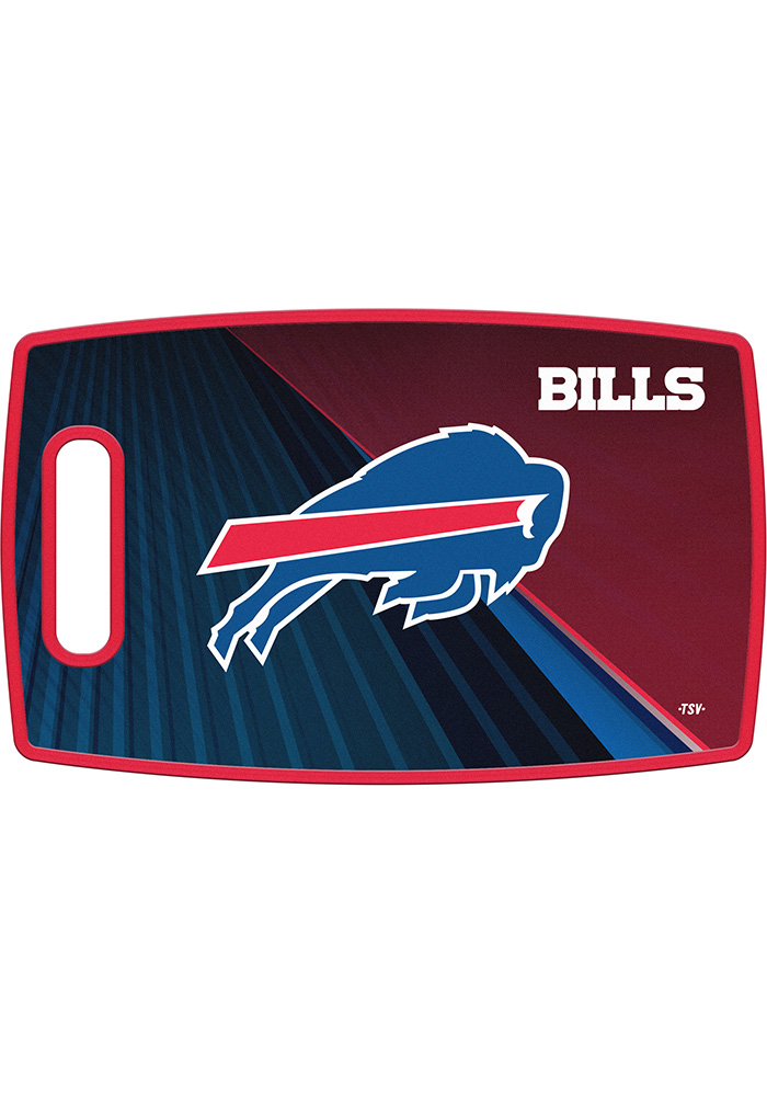 Buffalo Bills 14.5x9 Plastic Cutting Board - Image 1
