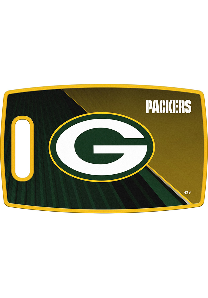 Green Bay Packers 14.5x9 Plastic Cutting Board - Image 1