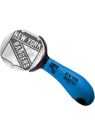 New York Rangers Stainless Steel Pizza Cutter